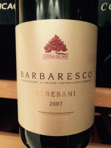 1-Barbaresco 2007 Albesni